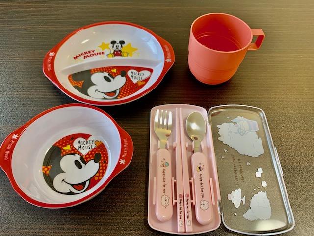 子供用食器をご準備!