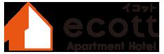 アパートメントホテル ecott